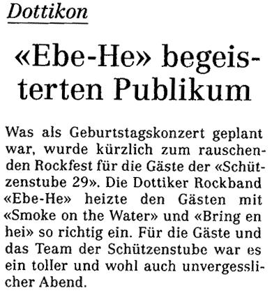 Wohler Anzeiger vom 24.04.2009