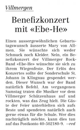 Wohler Anzeiger vom 30.06.2009